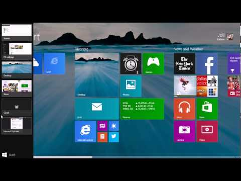 Windows 8.1 Close Unwanted Apps