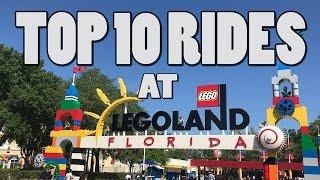 Top Ten Rides at Legoland Florida