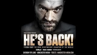 (BREAKING!!!) TYSON FURY ANNOUNCES PROMOTIONAL DEAL WITH FRANK WARREN!!! OFFICIAL PROMO!!!!