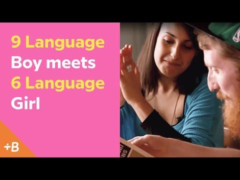 9 Language Boy Meets 6 Language Girl | Babbel Polyglots