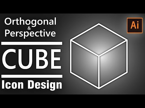 illustrator cube tutorial, how to design a cube in illlustrator
