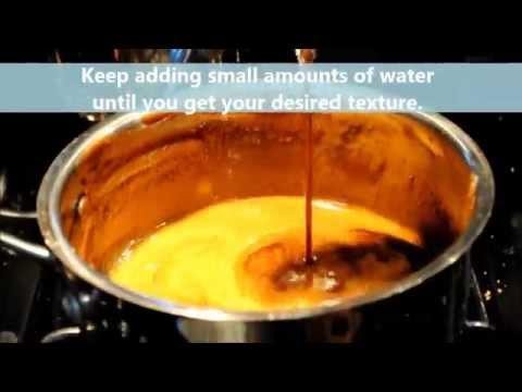 How to Make Arnibal (Caramelized Brown Sugar Syrup  )