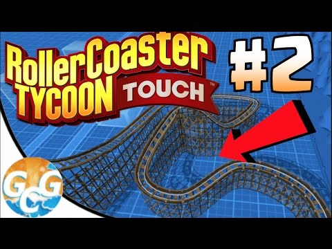 MY FIRST ROLLER COASTER! :: RollerCoaster Tycoon Touch Walkthrough #2