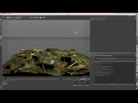 Cinema 4D - How to make terrain from Google Earth and use DEM Earth Plugin