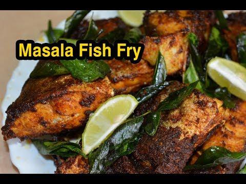 Masala Fish Fry | மசாலா மீன் வறுவல் | Fish Fry recipe