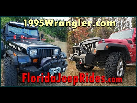Hey! Welcome to 1995 Wrangler - Florida Jeep Rides - Ride some trails.