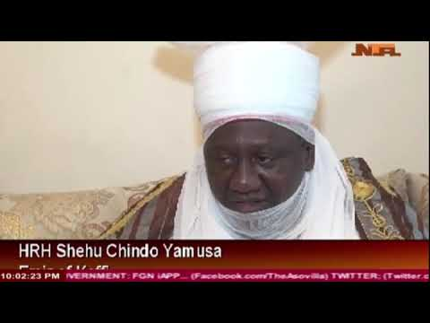 Sultan of Sokoto Gives Out his Daughter's Hand in Marriage