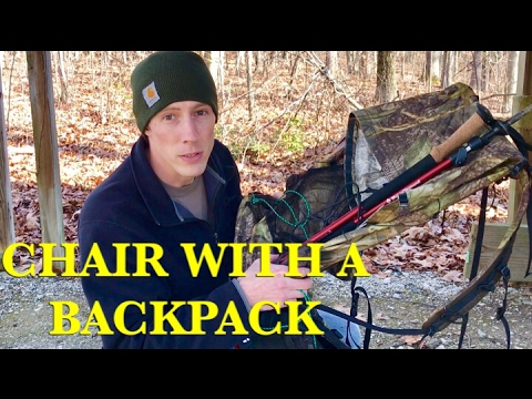 TREKKING POLE BACKPACKING CHAIR | MADE WITH A BACKPACK