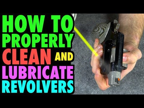Properly Cleaning & Lubricating Revolvers