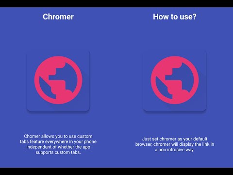 Chromer Android App - In app Google Chrome Review and Tutorial