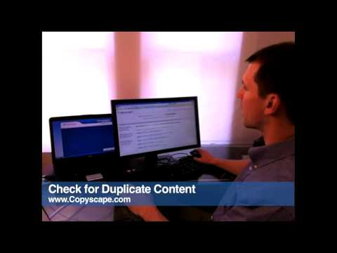 Day 3 - How to check websites for duplicate content