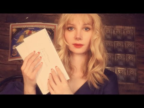 Relaxing Tingles Post Office Visit 💌 ASMR Post Office Roleplay