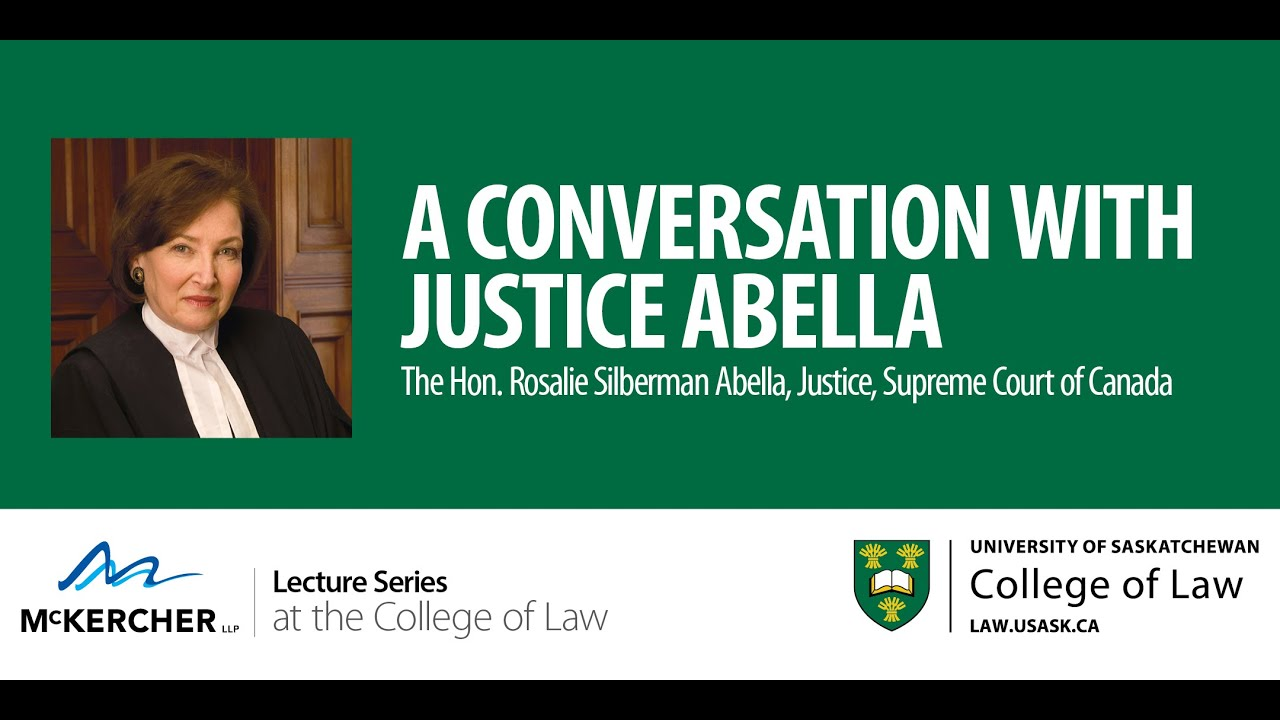 A Conversation With Justice Abella