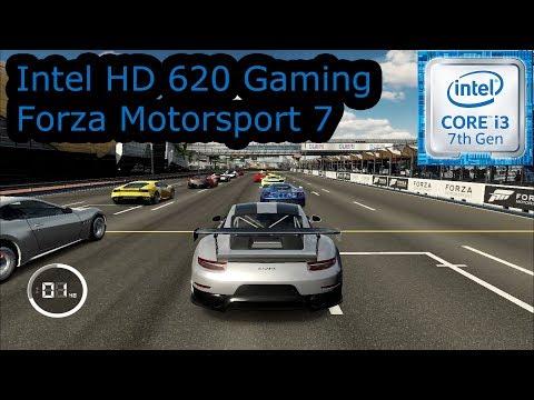 Intel HD 620 Gaming - Forza Motorsport 7 - i3-7100U, i5-7200U, i7-7500U, Kaby Lake