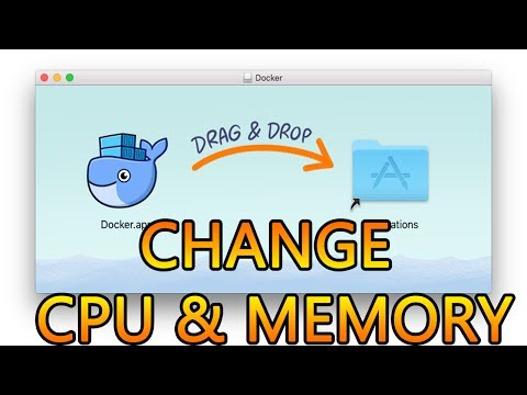 Docker Mac OS X | Advanced Setting, Change CPU and Memory on Docker Community Edition