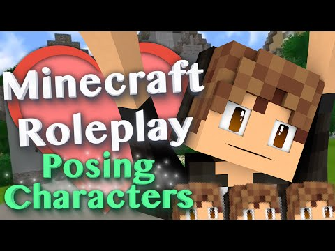 Posing Characters with Statue/Puppet/NPCS Mods (Minecraft Roleplay Tutorial) Ep.9
