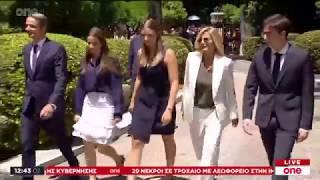 Στο Προεδρικό Μέγαρο ο Κ. Μητσοτάκης - Ορκίζεται πρωθυπουργός