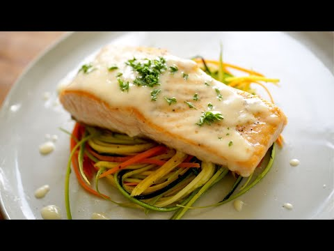 Pan Seared Salmon Recipe with Beurre Blanc Sauce