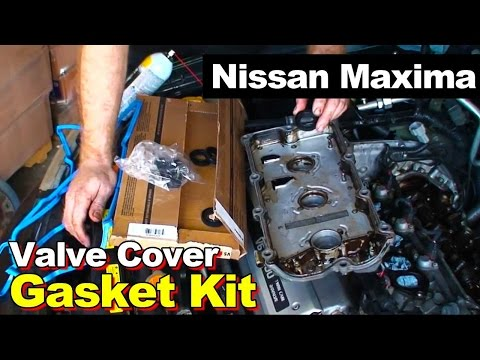 1995-1999 Nissan Maxima 3.0L V6 Rear Valve Cover Gasket