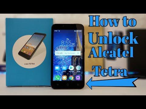 How to Unlock Alcatel Tetra