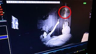 We spent the night at my haunted house & caught this on camera.. (REAL GHOST ACTIVITY)