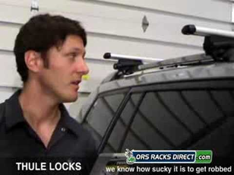 Thule Rack Locks Review Video & Demo by ORS Racks Direct
