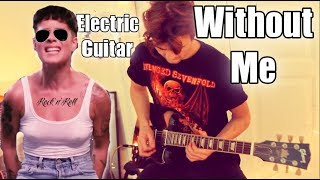 Halsey Without Me - Chords - Guitar Lesson - How to play