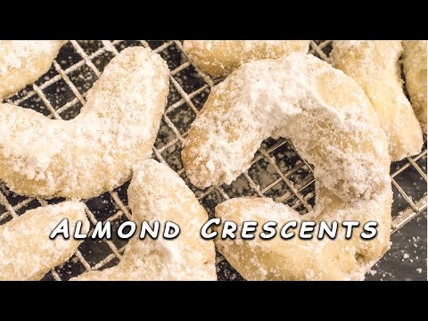 Almond Crescents, Made Easy