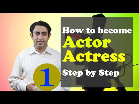 how to become an actor in Pakistan - Part 1