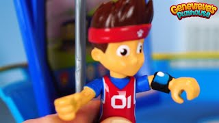 Paw Patrol Toy Videos Teach Kids Colors with Doc McStuffins Peppa Pig Dragon Rescue Mission for Kids