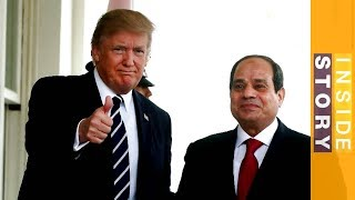 Does Egypt support Trump