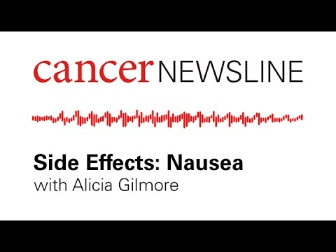 Nausea as a side effect of cancer treatment