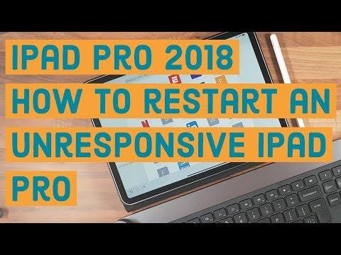 iPad Pro 2018/iOS 12   How to restart an unresponsive iPad Pro