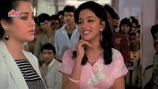 Anil Kapoor, Madhuri Dixit, Mandakini,Tezaab - Scene 10/20 (k)