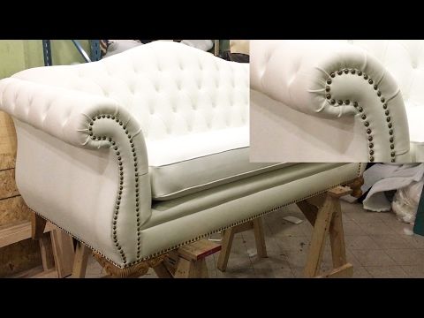 HOW TO ADD DECORATIVE NAILS USING A UFFY NAIL GUN - ALO Upholstery