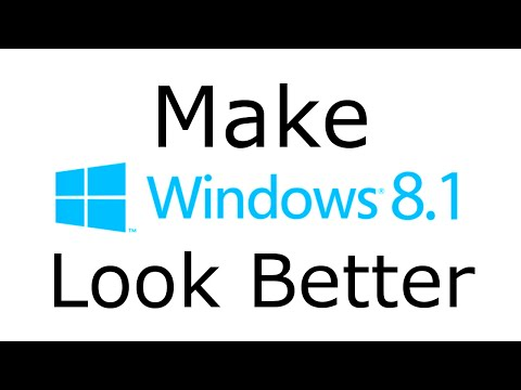 Easy Cosmetic Changes for Windows 8.1