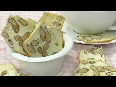 杏仁脆饼 Almond Biscotti