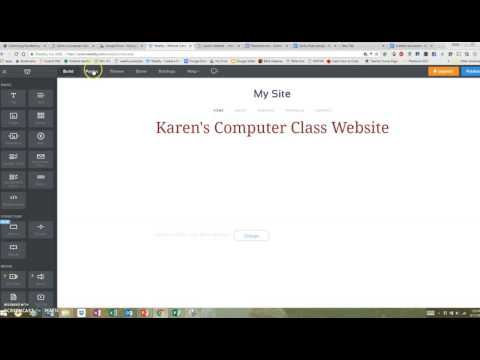 Weebly Theme and subdomain