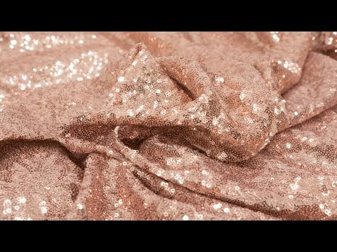How to Sew With Sequin Fabric