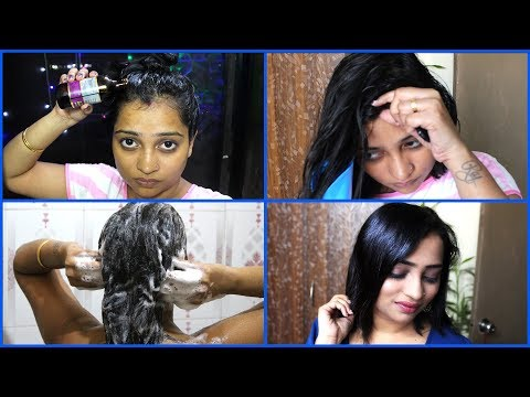 My Easy Hair Care Routine for Shiny & Healthy Looking Hair - Indian Mom On Duty