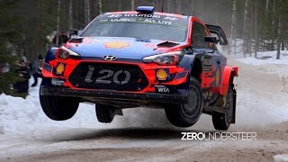 Rally Sweden 2019 | Insane Speed & Jumps