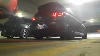 APR Stage 2 MK7 Golf R Pops And Bangs Crackle Tune Exhaust