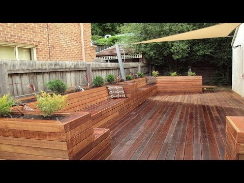 Awesome Wooden Porch Design and Backyard Ideas