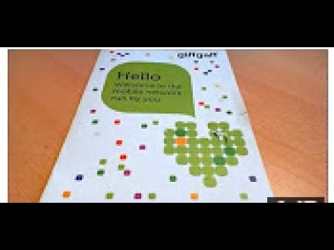 How to get Free GiffGaff SIM Card with £5 Free Top Up - Order your GiffGaff SIM Today!