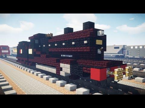 Minecraft LNER Class O4 Steam Locomotive Tutorial
