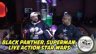 BLACK PANTHER, SUPERMAN, LIVE ACTION STAR WARS