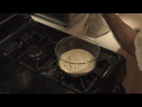 Microwave Cooking Steel Cut Oatmeal - Part 1