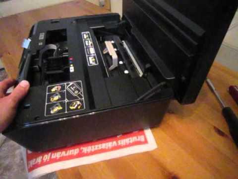 Hp DeskJet 5525 printhead removal