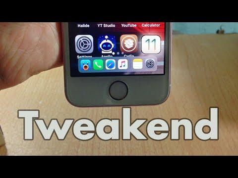 Tweakend 01 - The best new cydia tweaks of the week iOS 11 / 11.1.2