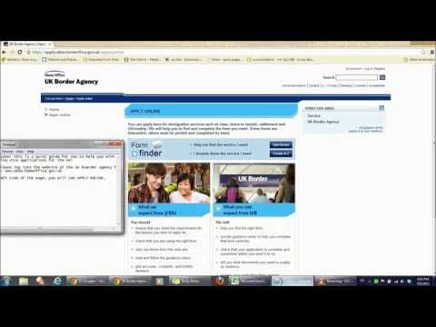 UK VISA Online Application